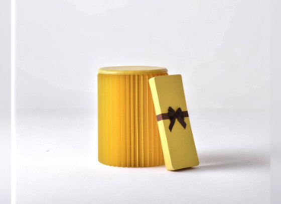 Paper Lounge: Concertina Stool