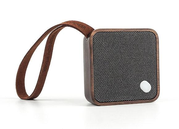 Gingko MI Square Pocket Speaker - Walnut