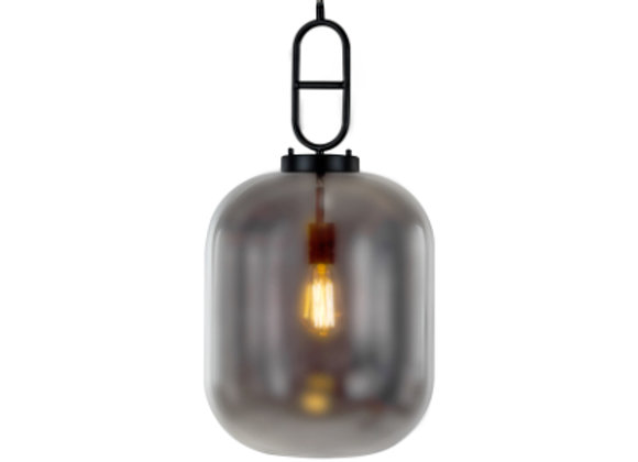 Large Glass Ceiling Light Grey
