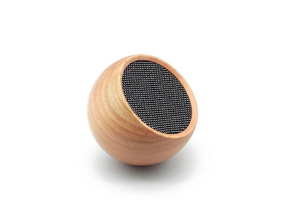 Gingko  Tumbler Selfie Speaker - Cherry Wood