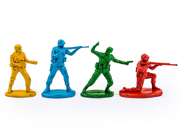 Set of Classic Toy Soldiers