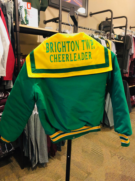 EMBROIDERED CHEER JACKET