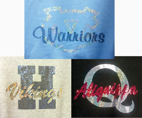 Custom Spangled School Shirts