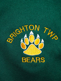 EMBROIDERED BRIGHTON TOWNSHIP BEARS