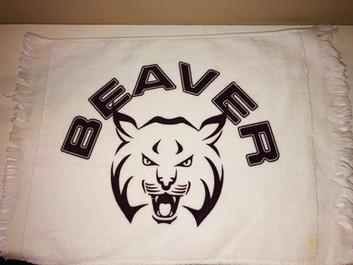 SCREEN PRINTED TOWEL