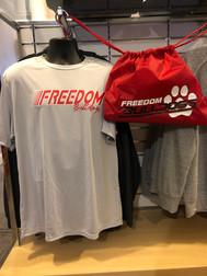 FREEDOM MERCH SCREEN PRINTED