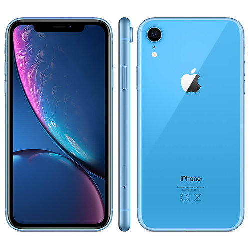 Refurbished iPhone Xr Blauw - 64 GB B Grade