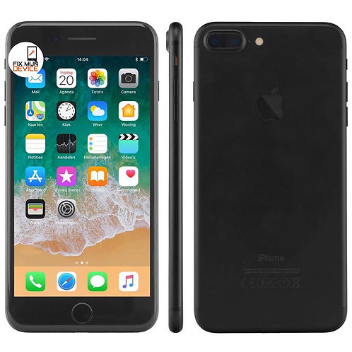 Refurbished iPhone 7 Plus Zwart - 128 GB B Grade