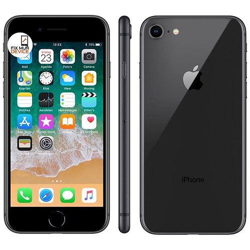 Refurbished iPhone 8 Zwart - 256 GB A Grade