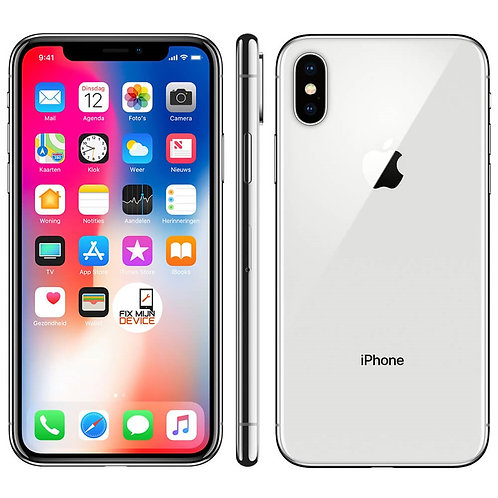 Refurbished iPhone X Zilver - 64 GB A Grade