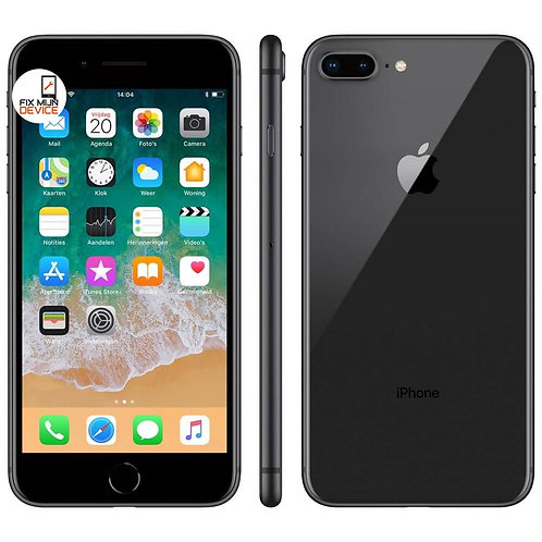 Refurbished iPhone 8 Plus Zwart - 64 GB A Grade