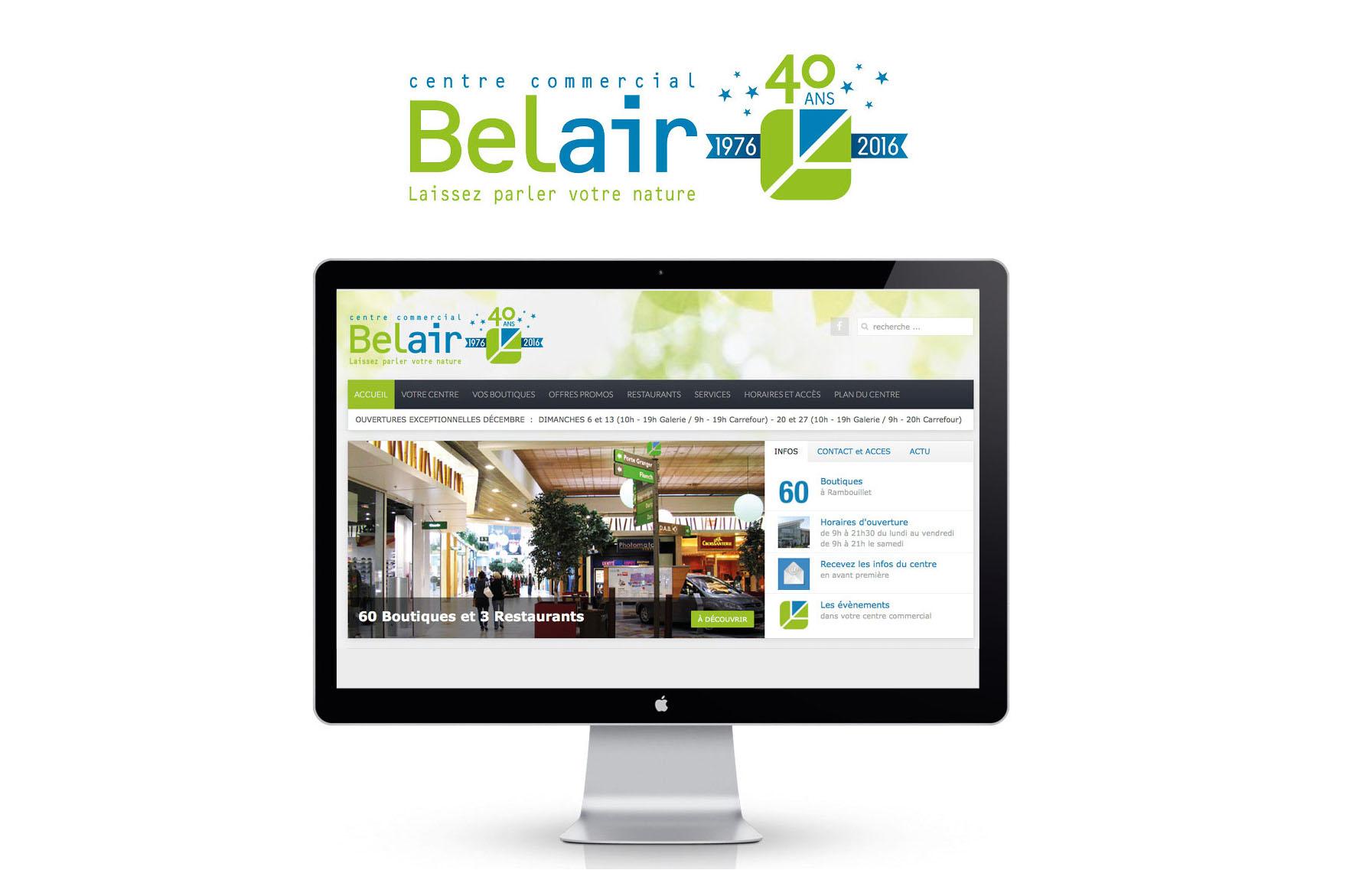 Centre commercial Belair