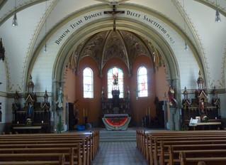 Le mobilier liturgique de l'église d'Onnens