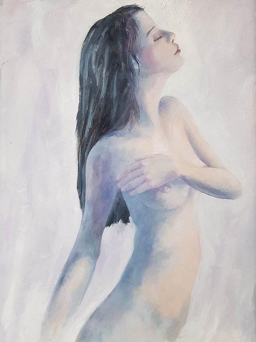 Nu I, 2019, 50x70 cm, Nicolas Ruffieux