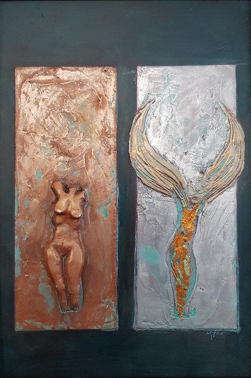 Ange ou démon I  2011 40x60cm, Nicolas Ruffieux