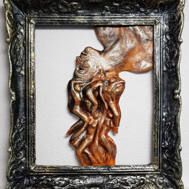 Muses (2), 2017, 60x70cm, Nicolas Ruffie