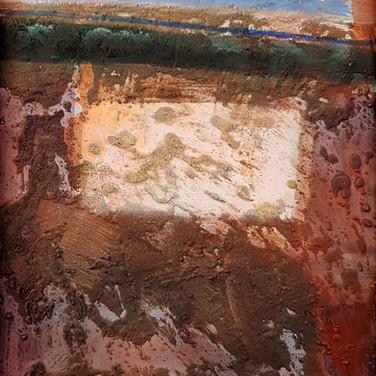 Romont III, 2002,    50 x 90cm, Nicolas Ruffieux