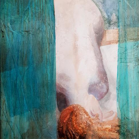 Nu 2, 2010, 60x80cm, Nicolas Ruffieux