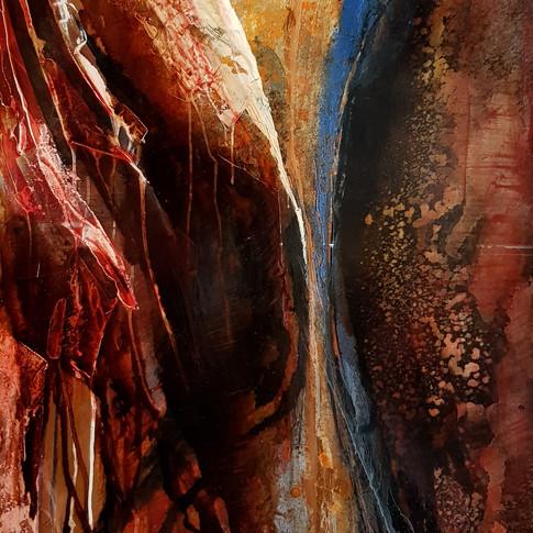 Improvisation  IV, 2005, 70x100cm, Nicolas Ruffieux