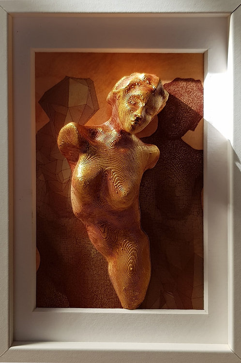 De Vinci + 500 ans, 2019, 12 x 17 cm, Nicolas Ruffieux