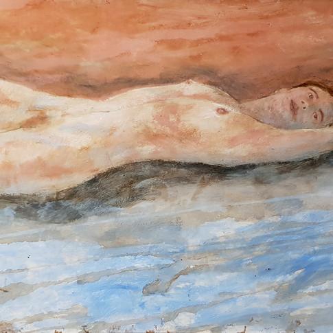 Femme, 2002, 100x75cm, Nicolas Ruffieux