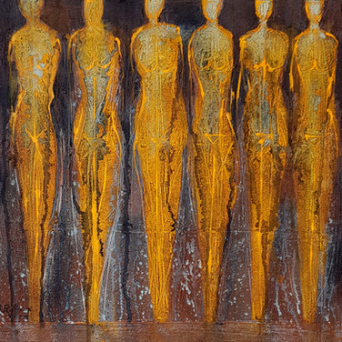 Silhouettes, 2015, 50x70cm, Nicolas Ruffieux