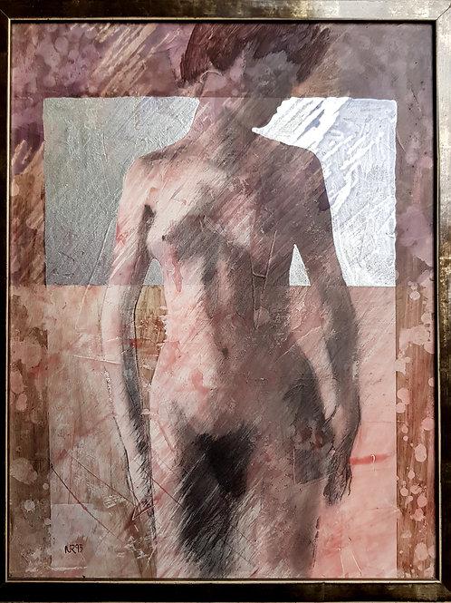 Femme, 1993, 40x54cm, Nicolas Ruffieux