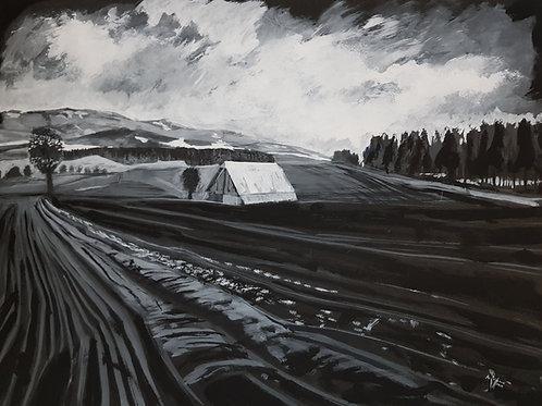 Le Bugnon, 2019, 69x50cm, Nicolas Ruffieux
