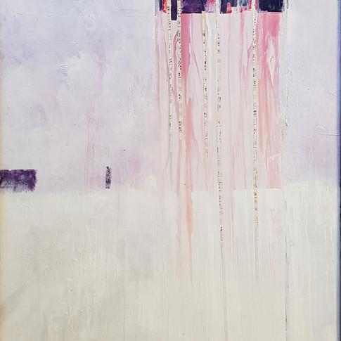 (Winterreise) Gefrorne tränen, 1994, 60x70cm, Nicolas Ruffieux