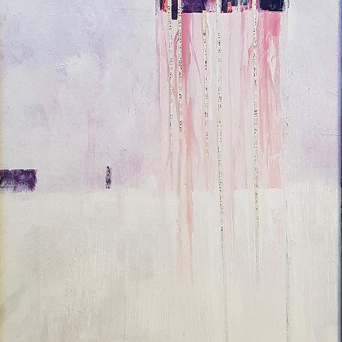 Gefrorne tränen, 1994, 60x70cm, Nicolas Ruffieux
