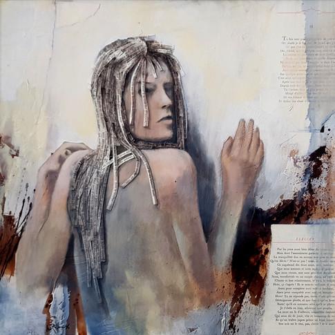 Femme I, 2010, 60x80cm, Nicolas Ruffieux