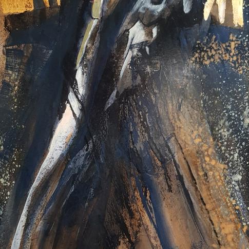 Improvisation  I, 2005, 70x100cm, Nicolas Ruffieux