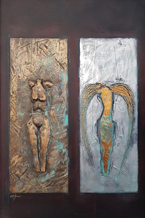 Ange ou démon III, 2011, 40x60cm,Nicolas Ruffieux