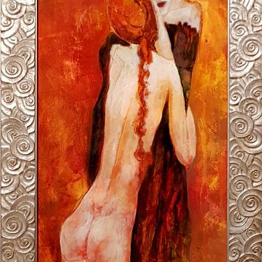 Mère et fille, 2015, 36x63cm, Nicolas Ruffieux