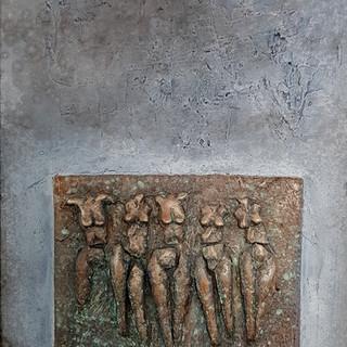 EX-MISS, 2004    55x90cm, Nicolas Ruffie