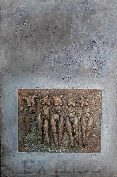 EX-MISS, 2004, 55x90cm, Nicolas Ruffieux