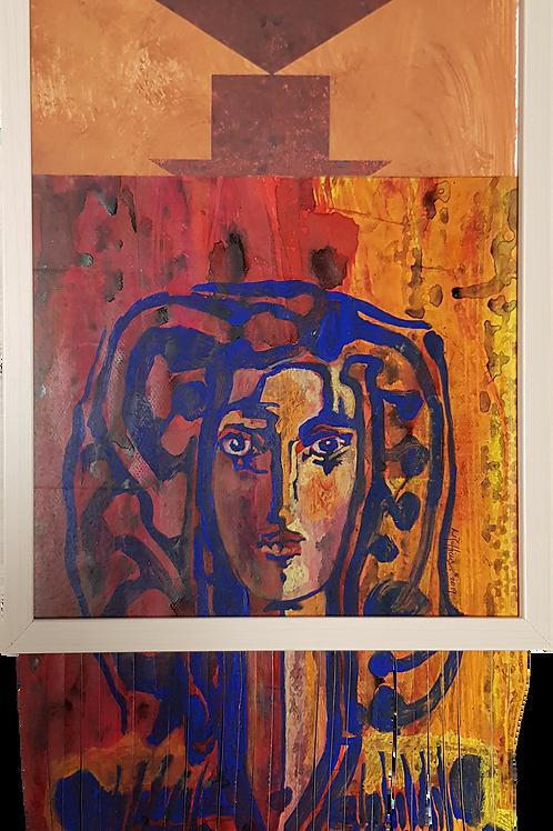 #banksy #picasso I, 2019,32x42cm, Nicolas Ruffieux