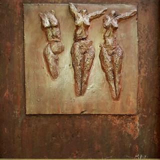 Bas-relief, 2004, 40x60cm, Nicolas Ruffi