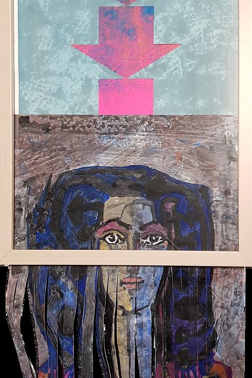 #banksy #picasso XI, 2019,32x42cm, Nicolas Ruffieux