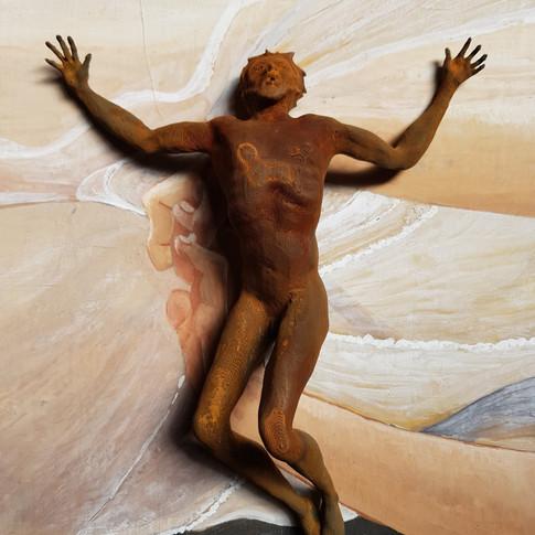 Christ à terre