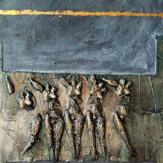 2011 AV-JC (3), 2011, 50x70cm,Nicolas Ru