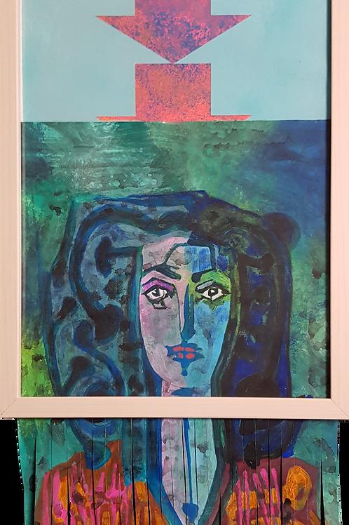 #banksy #picasso VIII, 2019,32x42cm, Nicolas Ruffieux