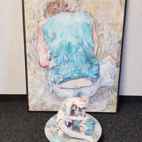D'après Egon Schiele