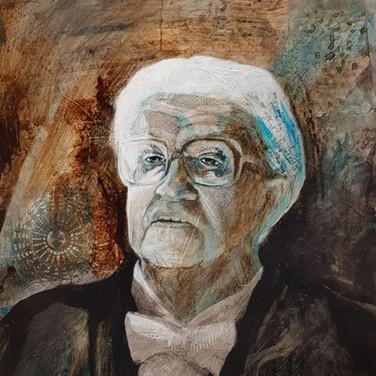 Portrait de Pierre Kaelin, 2008   60x70cm, Nicolas Ruffieux