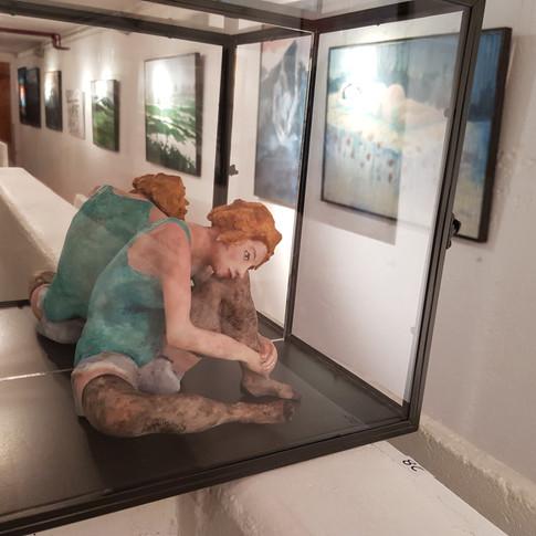 Femme assise Egon Schiele