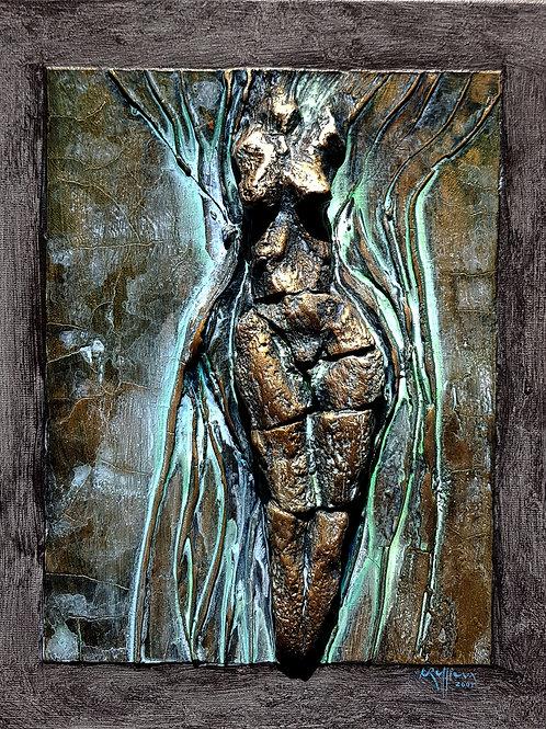 Bas-relief, 2005, 25x30cm, Nicolas Ruffieux
