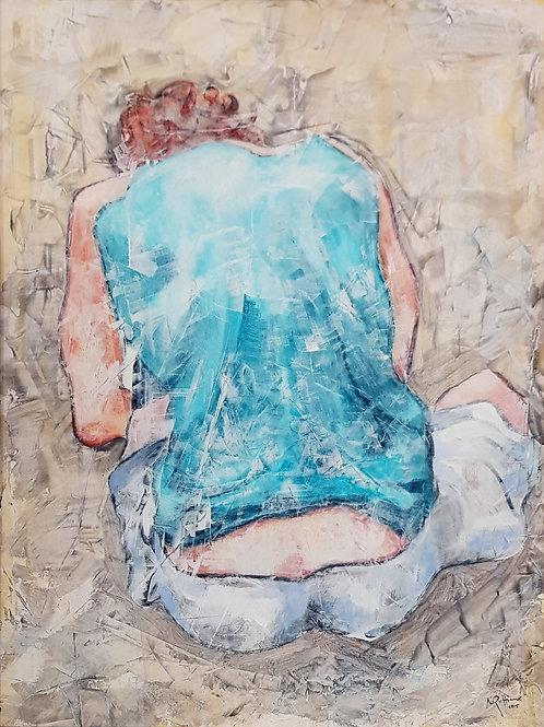 Egon Schiele, 2015, 60x80cm, Nicolas Ruffieux