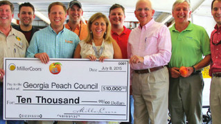 At The Table PR orchestrated a partnership between MillerCoors and the Georgia Peach Council