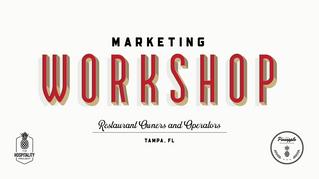CEO Cheryl Miller leads Marketing Workshop for Restaurant Owners