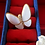 Thumbnail: Vintage 1970s Gold Tone Mother of Pearl Butterfly Brooch